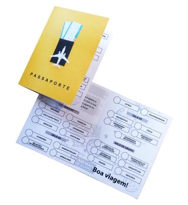 Passaporte das profissões.