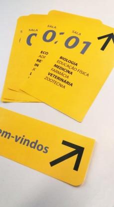 Placas de Identificação.